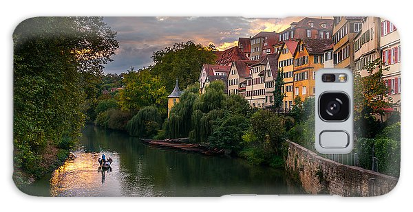 Sunset In Tubingen Galaxy Case