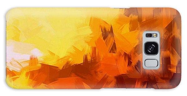 Sunset In Valhalla Galaxy Case by Paulo Guimaraes