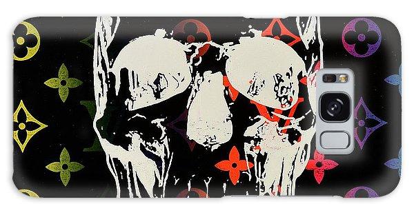 Skull Galaxy Case - Sunset Lv Skull  by Shane Bowden