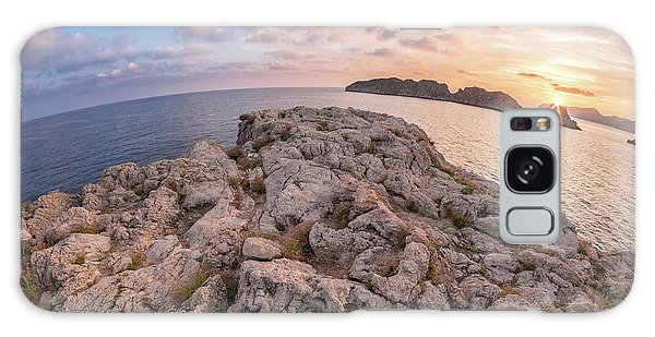 Sunset Malgrats Island Wide Angle Galaxy Case