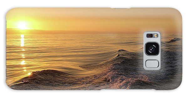 Sunset Meets Wake Galaxy Case