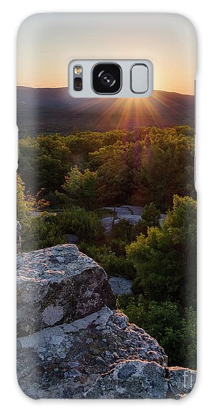 Sunset, Mt. Battie, Camden, Maine 33788-33791 Galaxy Case