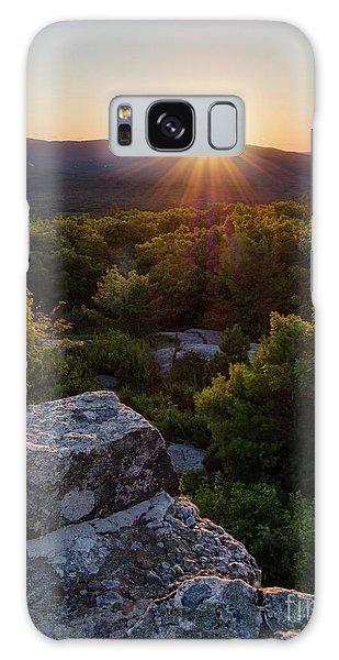 Sunset, Mt. Battie, Camden, Maine 33788-33791 Galaxy Case by John Bald