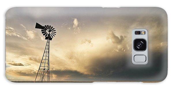 Sunset Near Santa Rosa New Mexico Galaxy Case