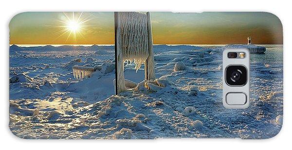Sunset Of Frozen Dreams Galaxy Case