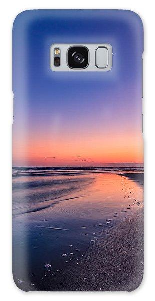 Sunset, Old Saybrook, Ct Galaxy Case