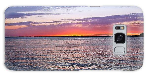 Sunset On Barnegat Bay I - Jersey Shore Galaxy Case