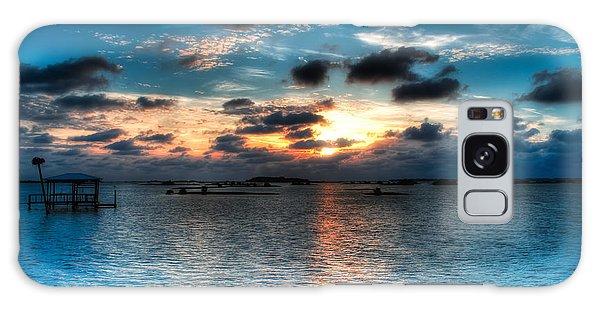Dock Galaxy S8 Case - Sunset On Cedar Key by Rich Leighton