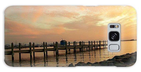 Sunset On Dewey Bay Galaxy Case