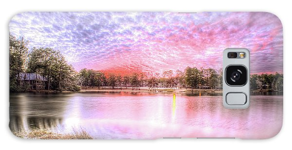 Sunset On Flint Creek Galaxy Case