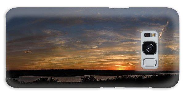 Sunset On Lake Georgetown Galaxy Case