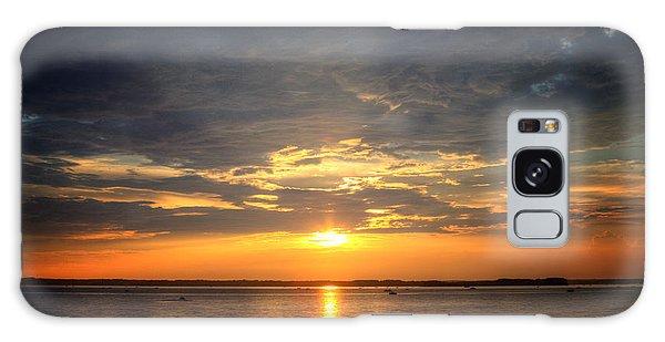 Sunset On Lake Hartwell Galaxy Case