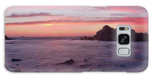 Sunset On Monterey Bay Galaxy Case