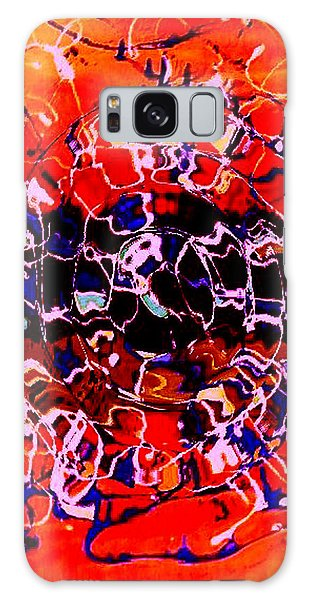 Sunset On Seaweed Beach Galaxy Case