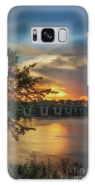 Sunset On The Arkansas Galaxy Case