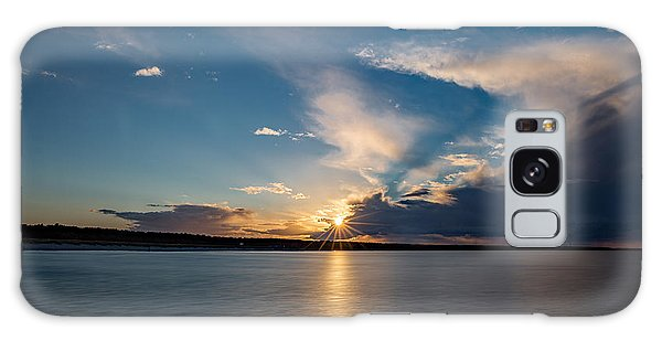Sunset On The Baltic Sea Galaxy Case