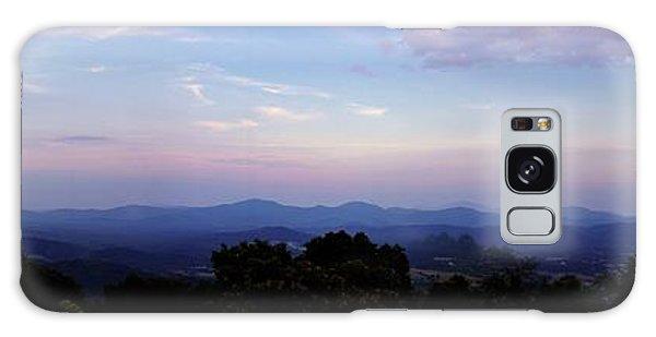 Sunset On The Blue Ridge Galaxy Case