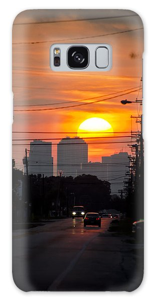 Galaxy Case featuring the photograph Sunset On The City by Carolyn Marshall