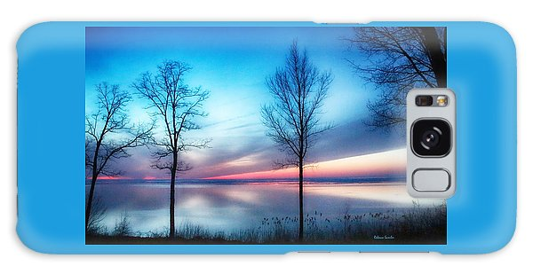 Sunset On The Diagonal Galaxy Case