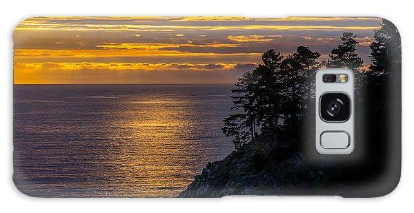 Sunset On The Edge Galaxy Case