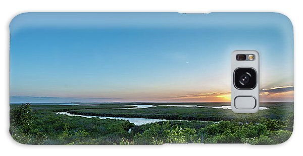 Sunset On The Outer Banks Galaxy Case