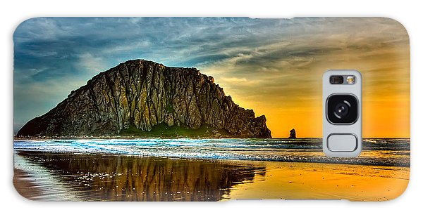 Sunset On The Rocks Galaxy Case