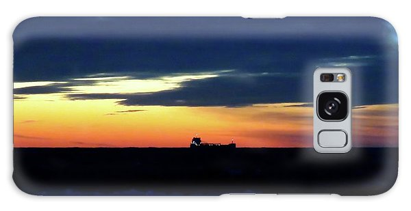 Sunset On Winter Solstice Eve Galaxy Case