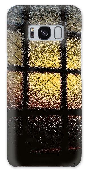Galaxy Case - Sunset Orange by Kumiko Izumi