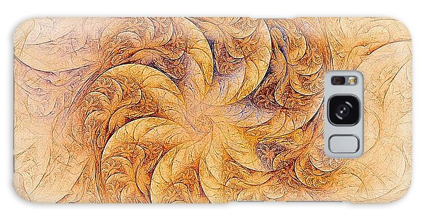 Sunset Orchids Galaxy Case