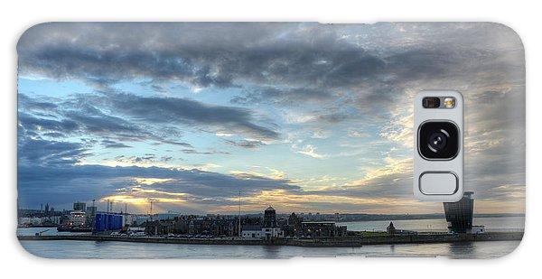 Sunset Over Aberdeen Galaxy Case
