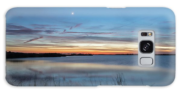 Sunset Over Back Bay Galaxy Case