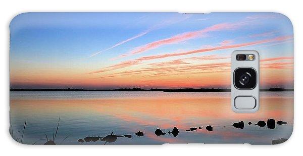 Sunset Over Back Bay National Wildlife Refuge Galaxy Case