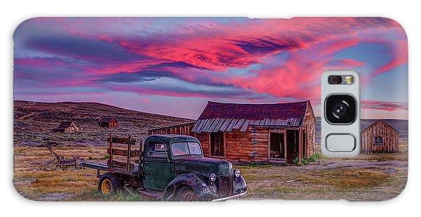 Bodie Galaxy Case - Sunset Over Bodie's Green Truck by Jeff Sullivan