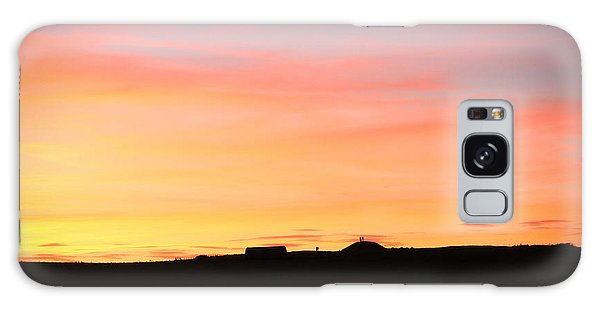 Sunset Over Cairnpapple Galaxy Case