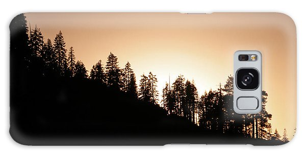 Sunset Over Glacier Point Galaxy Case