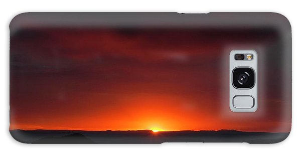 Sunset Over Grand Canyon Galaxy Case
