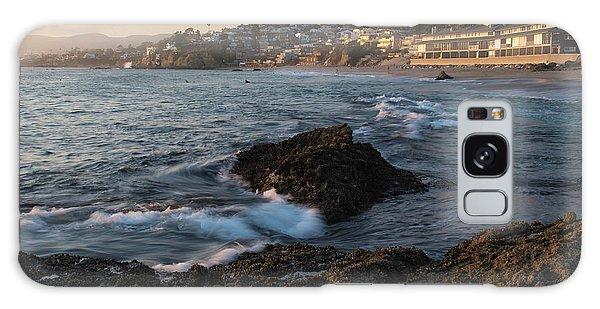 Sunset Over Laguna Beach   Galaxy Case