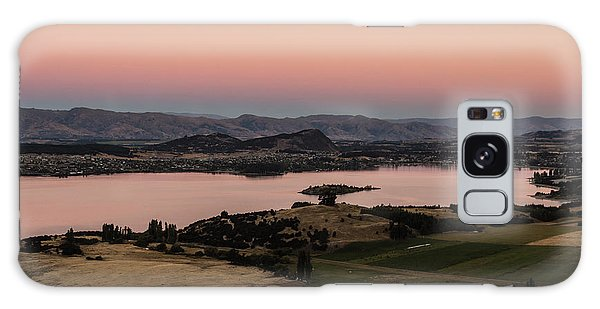 Sunset Over Lake Wanaka In New Zealand Galaxy Case