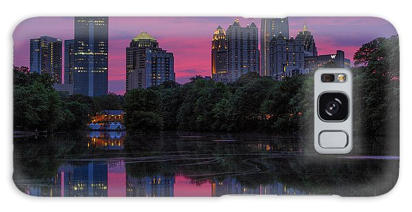 Sunset Over Midtown Galaxy Case
