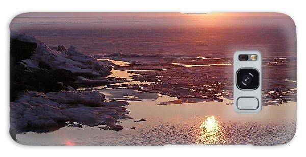 Sunset Over Oneida Lake - Horizontal Galaxy Case
