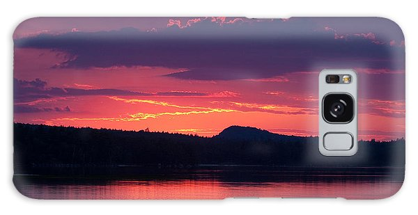 Sunset Over Sabao Galaxy Case by Brent L Ander