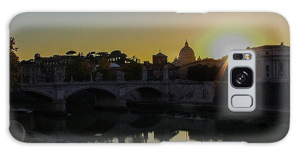 Sunset Over St Peters Galaxy Case