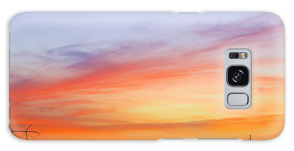 Sunset Over The Glades Galaxy Case