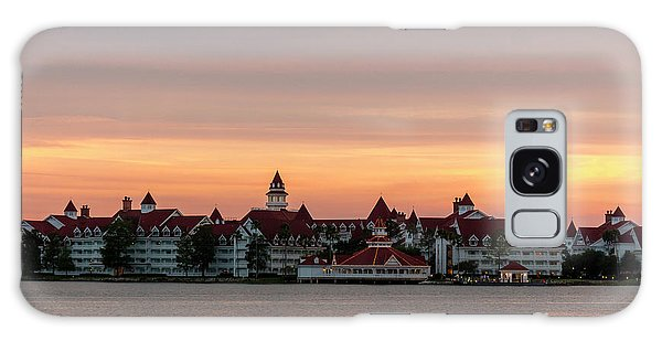 Sunset Over The Grand Floridian Galaxy Case