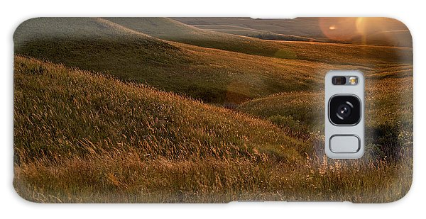 Rural Scenes Galaxy S8 Case - Sunset Over The Kansas Prairie by Jim Richardson