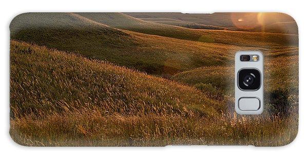 Rural Scenes Galaxy S8 Case - Sunset Over The Kansas Prairie by Jim Richardson