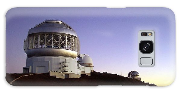 Sunset Over The Mauna Kea Observatories On Kona Galaxy Case by Amy McDaniel