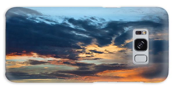 Sunset Over The Plains Of The Texas Panhandle 1 Galaxy Case by MaryJane Armstrong