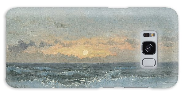 Sea Galaxy Case - Sunset Over The Sea by William Pye