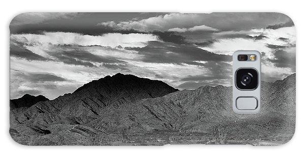 Sunset Over Yuma Mountain Galaxy Case